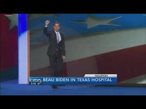Beau Biden treated in Houston