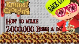Animal Crossing New Leaf: How To Make More Than 2,000,000