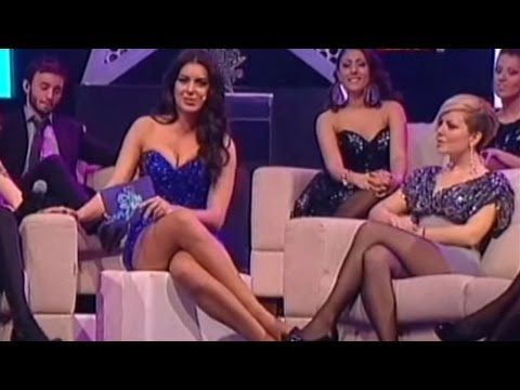 Marija Kilibarda Beautiful Serbian Tv Presenter 25.12.2011