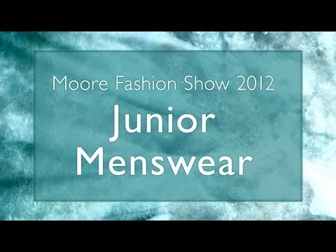 6 - Junior Menswear // 2012 Moore Fashion Show // Breaking Away