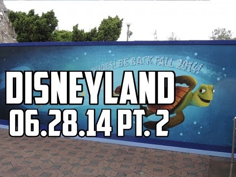 Finding Nemo Subs update and Star Tours - 06/28/14 Pt. 2