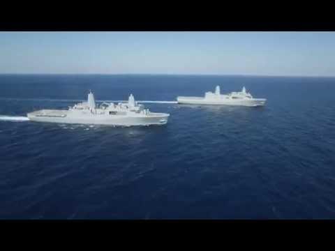 Sức Mạnh Quân Sự Mỹ- siêu tàu đổ bộ lớp San Antonio HD
