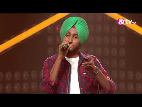 Parakhjeet Singh - Performance - Blind Auditions Episode 1 - December 10, 2016 - The Voice India Season 2