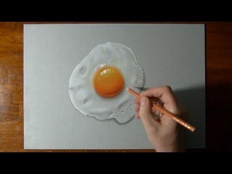 Vẽ Tranh Siêu Thực, Vẽ Trái Trứng Opla, Quá Đỉnh @@