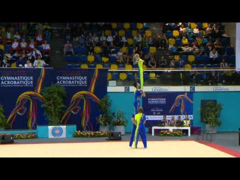 GREAT BRITAIN, Men's Groups - Dynamic Qualifications  -- 2014 Acrobatic Worlds, Levallois (FRA)