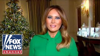 Melania Trump Gives Tour Of White House Christmas Decor