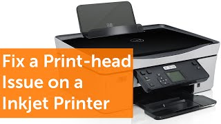 How To Fix A Print-head Issue On A Inkjet Printer In 99
