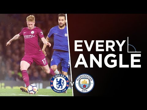 DE BRUYNE'S STUNNER | Every Angle: Kevin De Bruyne | Chelsea 0-1 City