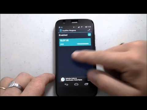 Moto G - Dual SIM Ringtone - Um Toque Música Para Cada Chip