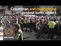 Colombians protest against return of bullfighting
