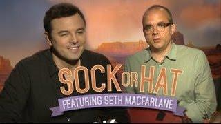 Seth MacFarlane Plays Sock Or Hat (Game Show)