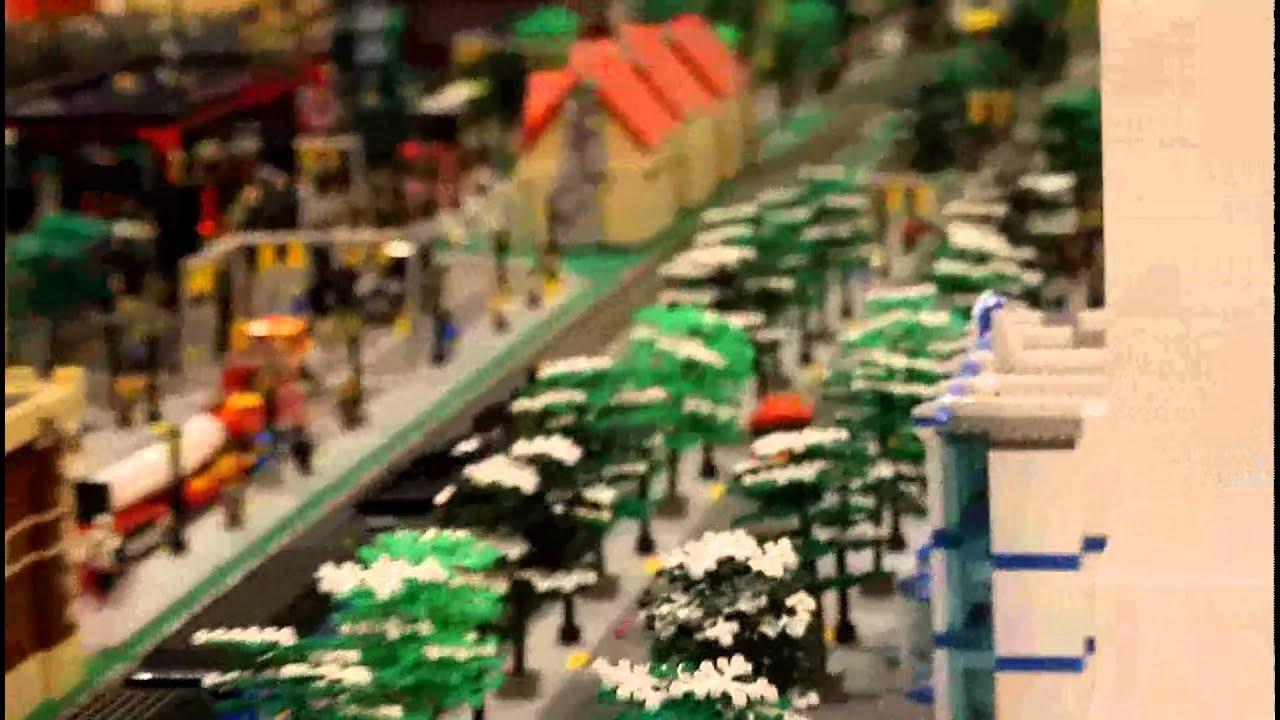 Lego Polar Express Lego freight train and polar