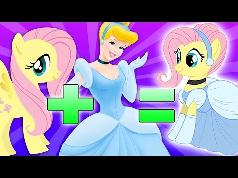 Disney Princess - My Little Pony | Character MASHUP!