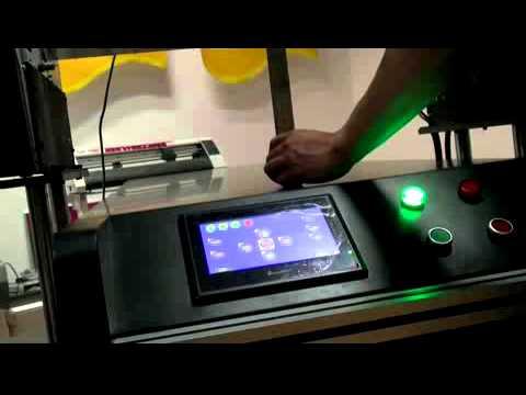 BR A1 UV printer set up training