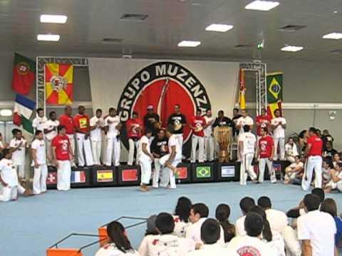 Final campeonato Europeu de Capoeira Muzenza 2010 (S.B. Regional)