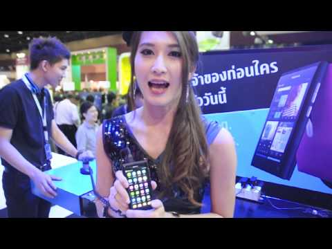 Introduce Nokia N9 in Thailand Mobile Expo 2011 Showcase