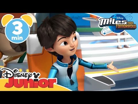 Miles From Tomorrow | Captain Miles | Disney Junior UK