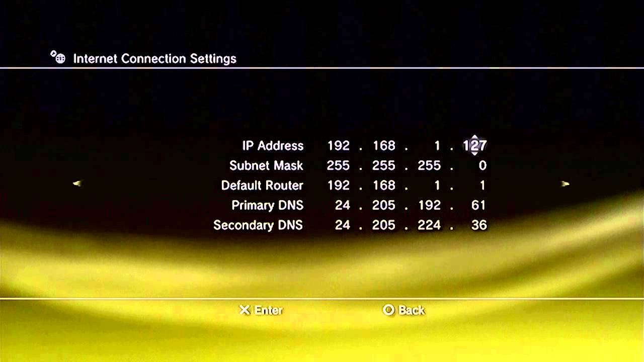 how to connect ps3 to internet