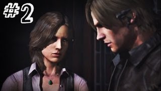 Resident Evil 6 Gameplay Walkthrough Part 2 NO WAY OUT