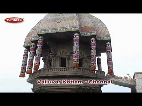 Tamilnadu Tourism In Tamil   Chennai Tourism Place List   Valluvar Kottam, Marina Beach & More