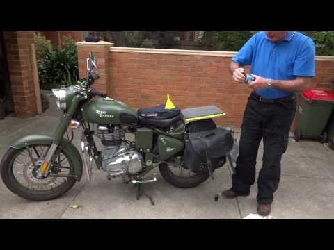 Mike Groth on Royal Enfield motorcycles [HD].