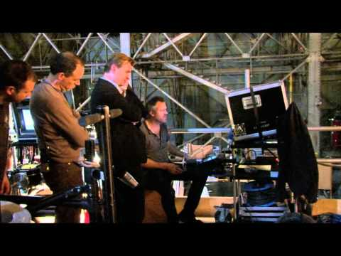 How were zero gravity scenes in inception filmed by Christopher Nolan
