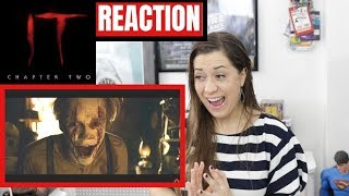 IT CHAPTER 2 | Comic Con Trailer REACTION