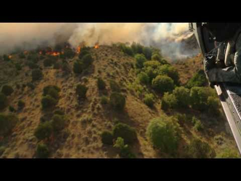 Utah Army National Guard Aerial Firefighting