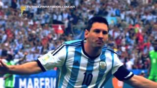 Todos Los Goles De Argentina. Mundial Brasil 2014. Fútbol