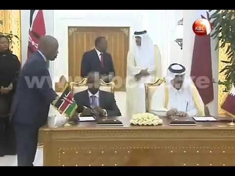 Kenya, Qatar sign key agreements as President meets Emir