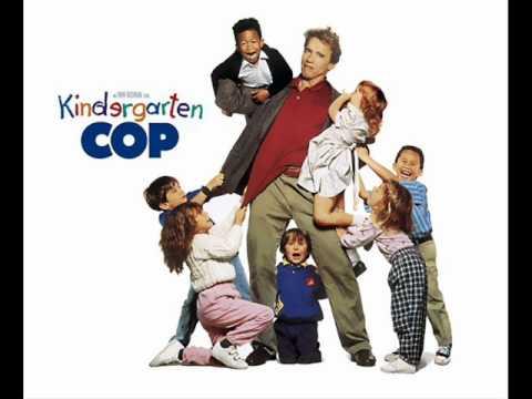 """Kindergarten Cop Soundtracks 1,2,3, Music from the soundtrack to """"Kindergarten Cop"""", composed by Randy Edelman. """"Kindergarten Cop"""" is a 1990 American comedy-thriller film directed by Ivan Reitman and starring Arnold Schwarzenegger."""