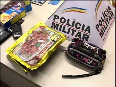 Mulher presa suspeita de roubar comércio de Araguari