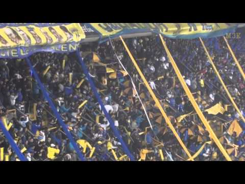 Boca UdeChile Lib12 / Entran los bombos