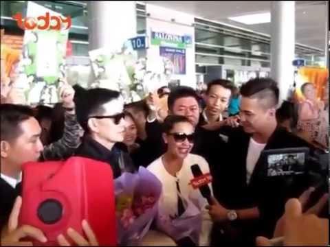 Chào đón diễn viên Richard Yap và Jodi Sta. Maria về Việt Nam (22.12.2014)
