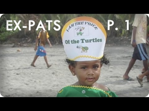 Rescuing Endangered Turtles in Dominica | Ep. 10 Part 1/3 EX-PATS | Reserve Channel