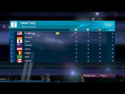 London 2012: The Official Video Game - Men's Weightlifting over 105kg