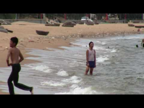 Mot ngay tam bien, windsurf o Quy Nhon   vui