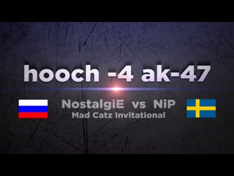 hooch vs NiP @ Mad Catz Invitational