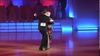 Первое место танго-шоу Moscow ball 2012