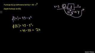 Reševanje funkcije 1