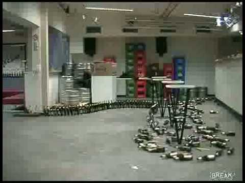 Domino efekat na pivskim flasama :)