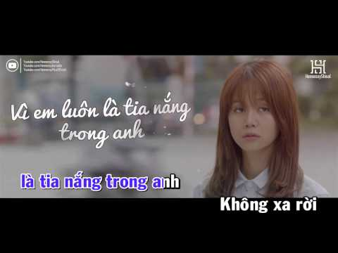 [ Karaoke ] Ánh Nắng Của Anh - Đức Phúc (Beat Chuẩn)