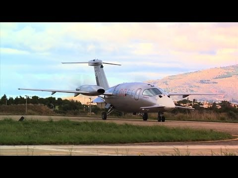 Selex ES - P.1HH HammerHead Medium Altitude Long Endurance UAS First Flight [720p]