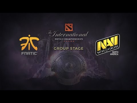 Fnatic -vs- Na`Vi.us, The International 4, Group Stage, Day 1