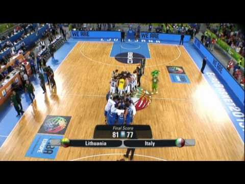 Highlights Lithuania-Italy EuroBasket 2013