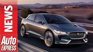 New Jaguar I-Pace concept revealed in LA. Auto Express.