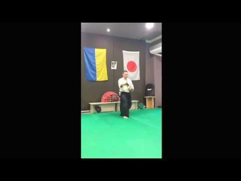 Sensei Aleksandr Ivasiuk; #iaido#aikido#ki#nishio#Mar 28, 2016