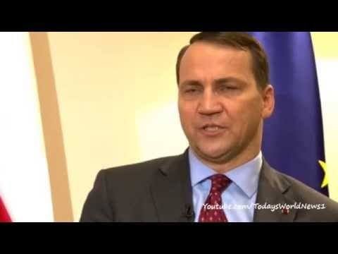 Polish FM Radek Sikorski on Ukraine crisis