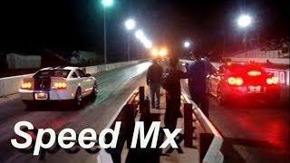 Mustang Shelby GT 500 Vs Nissan GTR