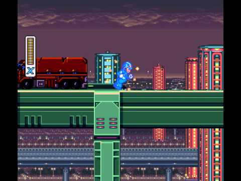 Mega Man X - Megaman X playthrough part 1- perfect intro - User video
